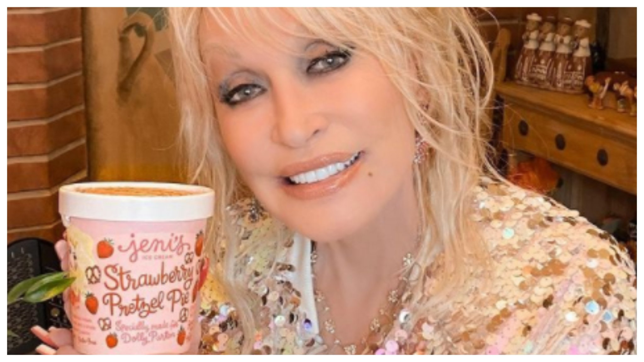 Dolly Parton Now Has Her Own Ice Cream And Really, What Could Be Sweeter?