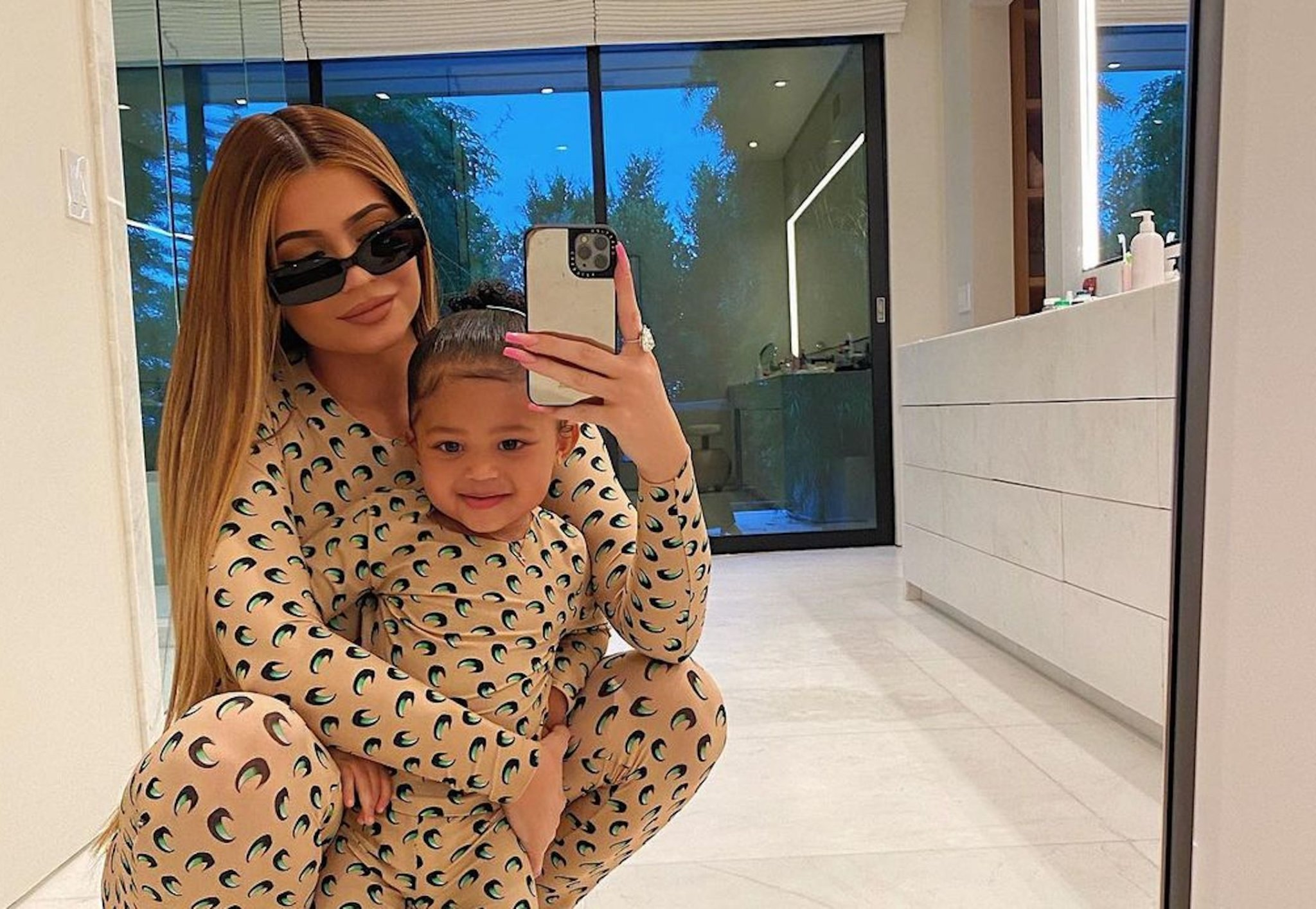 Kylie Jenner Claps Back at Claims That Stormi Is Already Wearing Makeup