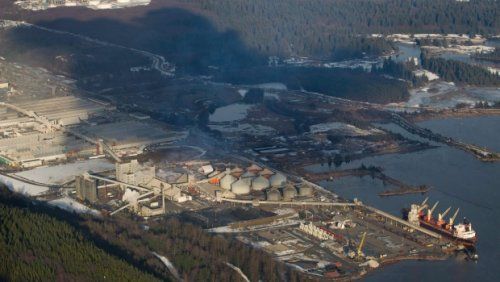 Strike notice issued by union representing workers at B.C. power-generating, smelting facilities