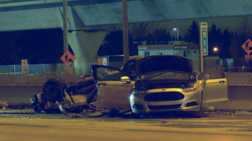 Girl, 15, killed in Highway 40 crash in Montreal; car race may be to blame, police say