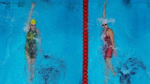 Kylie Masse wins silver medal in women's 200-metre backstroke