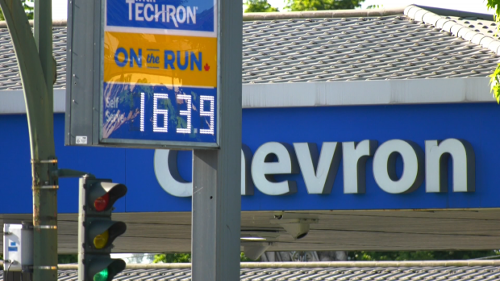 Pain at the pumps: Gas prices hit 163.9 cents/litre in parts of Metro Vancouver