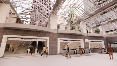 Burrard SkyTrain Station to close for 2 years to complete 'major upgrade': TransLink