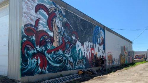 Regina gets a free-for-all graffiti wall