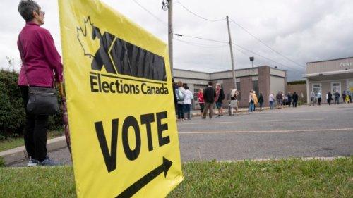 Will I be able to vote if I'm stuck in a long line on election night?