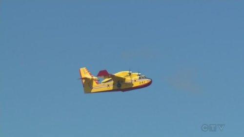 Quebec sending help to battle forest fires in Manitoba