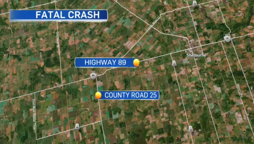 Child killed in collision on Hwy. 89 in Melancthon Friday