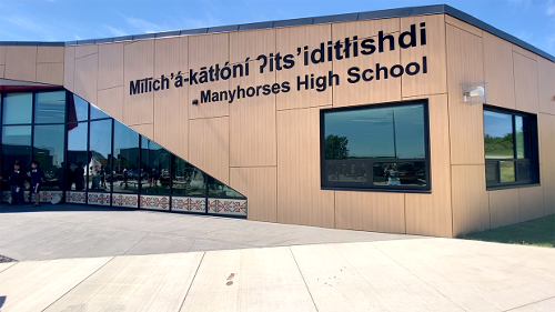Tsuut'ina Nation officially opens new high school