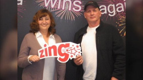 'I knew I had to split the prize with him': Alberta siblings share $1.5M lotto prize
