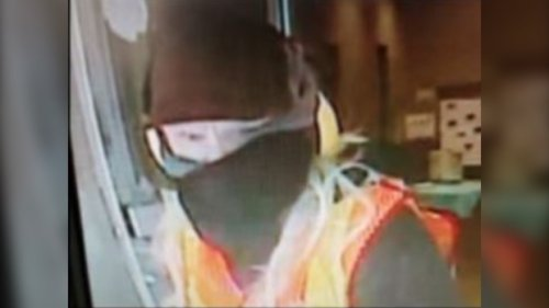 RCMP searching for suspect in armed bank robbery
