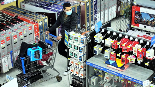 Stratford police seeking suspects in 'high-end theft' attempt at Walmart