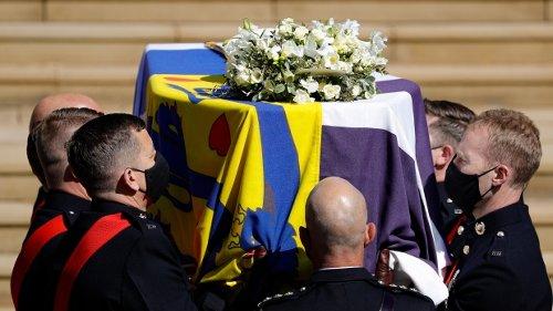 Latest updates: Prince Philip's funeral service underway