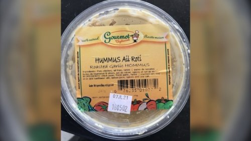 Recall issued for hummus products sold in Quebec stores