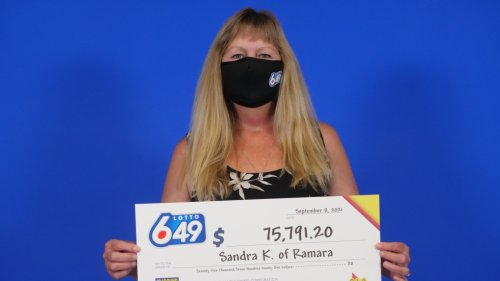 Ramara mom of 10 wins over $75,000 with favourite lottery numbers