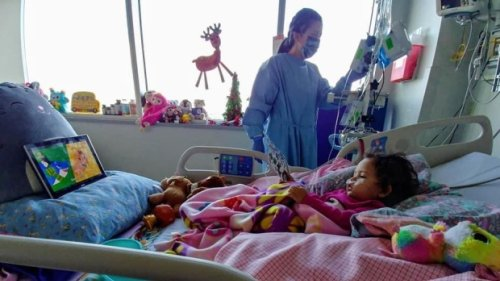 Windsor toddler celebrates one year cancer-free