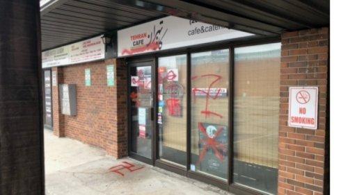 Winnipeg police releasing photos and video to help swastika graffiti investigation