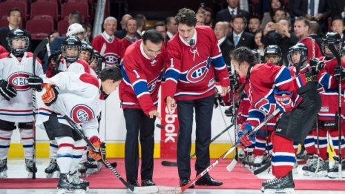 Prime Minister Justin Trudeau 'deeply disappointed' after Canadiens drafted Logan Mailloux