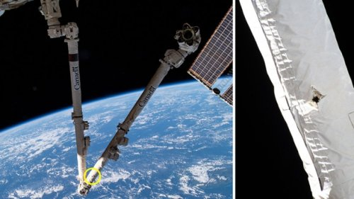 Space junk hits Canadarm2: 'The threat of collisions is taken very seriously,' CSA says