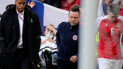 Denmark's Christian Eriksen taken to hospital, is stable after collapsing in Euro 2020 match