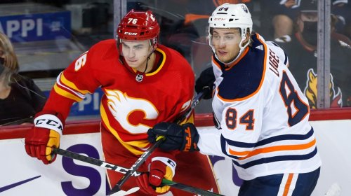 First-round pick Bourgault scores, adds assist in Oilers pre-season win over Flames