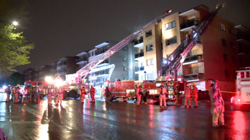 Dozens left homeless after Cote-des-Neiges fire