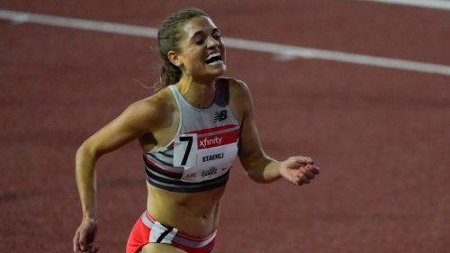Canada's Staehli wins women's 5,000-metre, beats Olympic standard at Golden Games