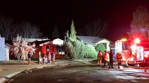 Southeast Edmonton home scene of fire Monday morning