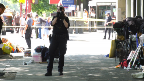 Stabbing in Downtown Eastside sends 1 to hospital: Vancouver police