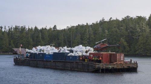 Small ship tourism operators help remove 425 tonnes of trash from B.C. coastline