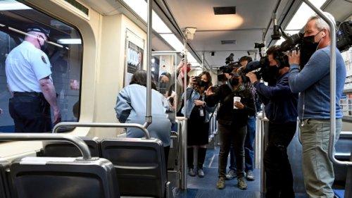 Train riders held up phones as woman was raped, Philadelphia police say