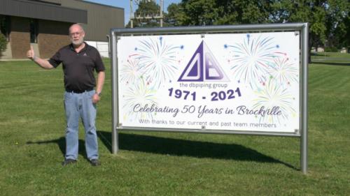 Douglas Barwick celebrates 50 years in Brockville; honours longest-serving employee
