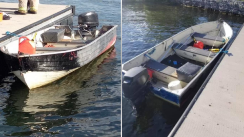 Cornwall police investigate abandoned boat found drifting in St. Lawrence River