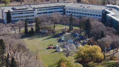 Province seeking injunction to remove camp from Legislature grounds