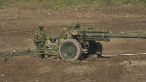 Canadian army training opens in Puslinch Township