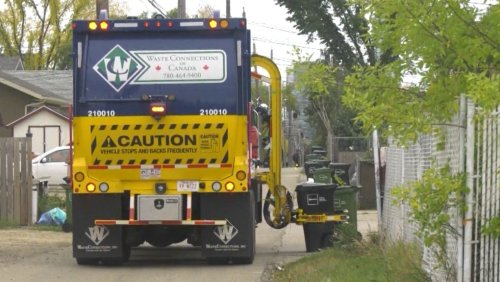 Third party garbage collector hopes to see uptick under Edmonton's new system