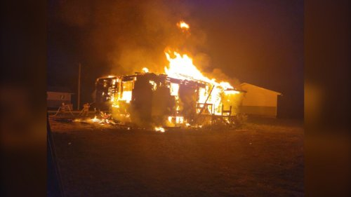 Second arrest made in assault at Manitoba home that went up in flames: RCMP