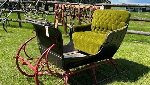 Alberta family auctioning off one of the largest private collections of horse-drawn carriages in North America