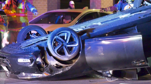 Police blame alcohol for dramatic Barrie crash