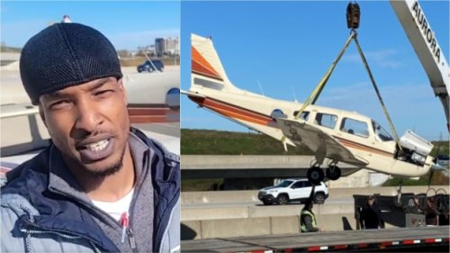 Pilot who landed plane on Toronto-area highway says he had no other option as video released of landing
