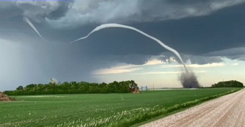Funnel clouds spotted as severe weather hits Saskatchewan