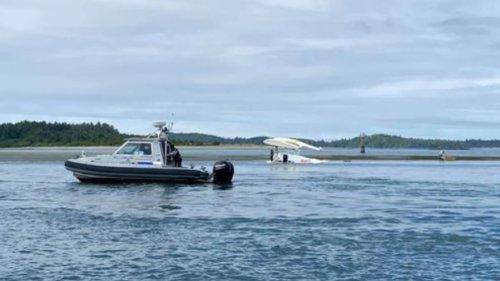 Floatplane flips on takeoff in Tofino, crew and passengers unhurt
