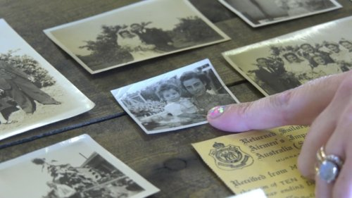 Love letters, documents from Second World War era discovered in Edmonton dresser
