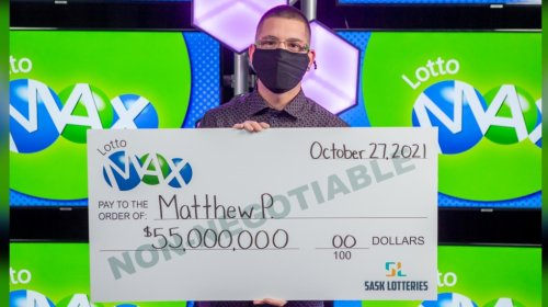 Sask. man 'can really help people now' after $55M lottery win