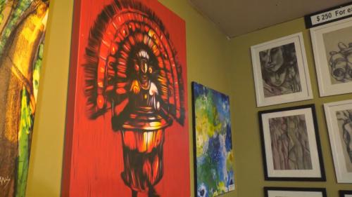 New art gallery featuring award-winning artist's work opens in Edmonton