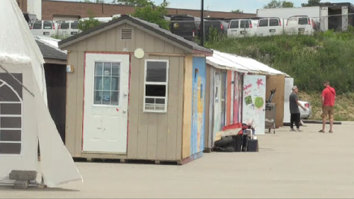 Neighbours of A Better Tent City's temporary home respond to relocation