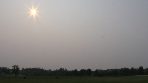 Air quality weather statements for central Ontario due to wildfire smoke