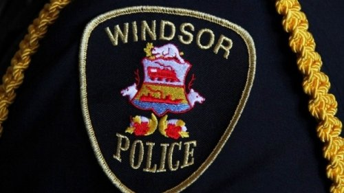 Windsor man charged after allegedly pointing imitation firearm at officer