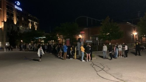 Long lineups remain for local voters after polls close