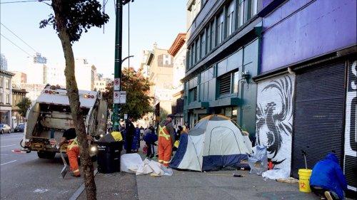 Downtown Eastside residents complain city sweeps target marginalized people's belongings