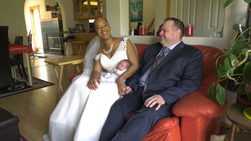 Youngest wedding party ever? Preemies make parents' wedding as flower girl, ring bearer